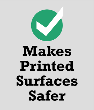 SafeLam - makes printed surfaces safer to handle
